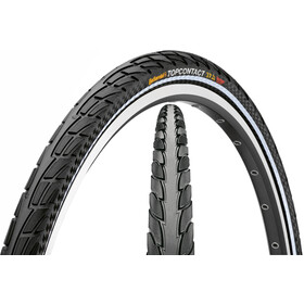 "Continental Top Contact II Tyre 28"" Vectra Breaker, foldable reflex"